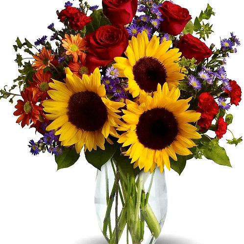 Sunflower Happiness