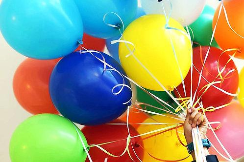 Latex Balloons Bunch