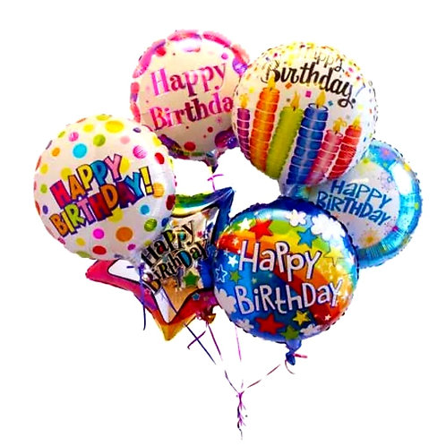 Occasion Mylar Balloon Bunch