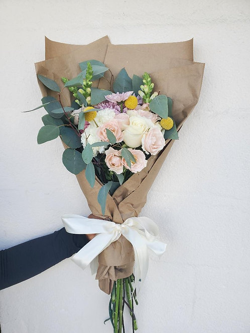 Blooms off Summer Wrapped Bouquet
