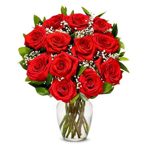 Classic 12 Roses
