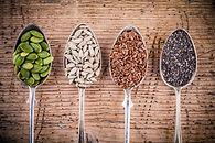 graines courge lin tournesol chia nutrit