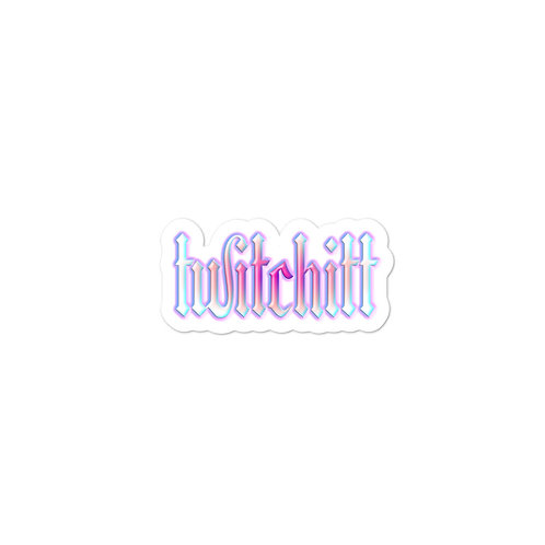 Twitchitt Stickers - Unicorn Flavour