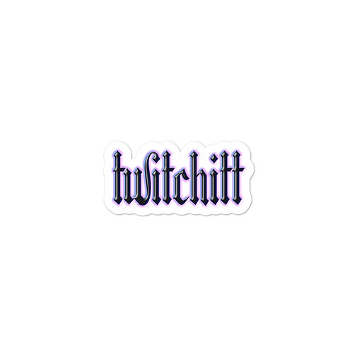 Twitchitt Stickers - Fantasy Witch Flavour