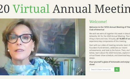 GCA Annual Meeting is Virtual Online