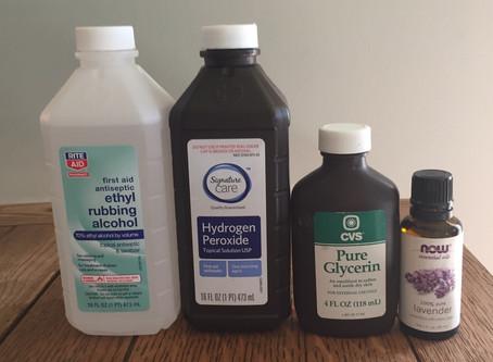 Carolyn's Hand Sanitizer Recipe