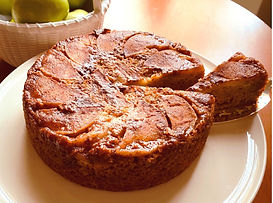 Hazelnut Apple Upside Down cake.jpg