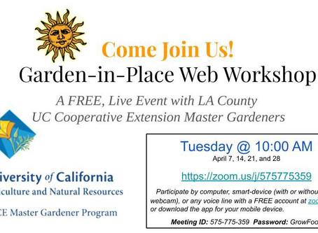 Online Master Gardener Classes