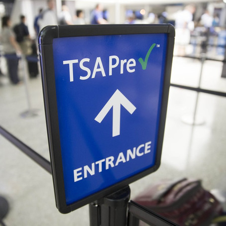 How to get thru airport security faster