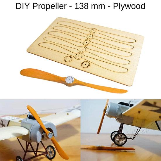holzpropeller flugzeug, propeller standmodell, propeller selber bauen, sperrholz propeller, flugzeugmodell propeller holz,