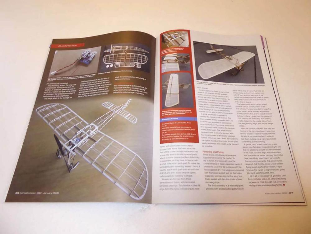 issue 992 magazine, slow flyer magazine, slow flyer baubericht, slow flyer bausatz bericht, tony ray slow flyer article