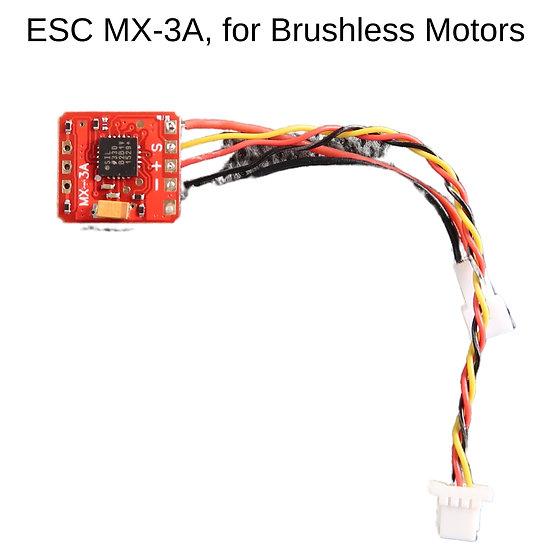 esc slow flyer, brushless motor esc, micro esc, small esc, mini esc, kleiner esc, bürstenloser motor esc, slow flyer brushles