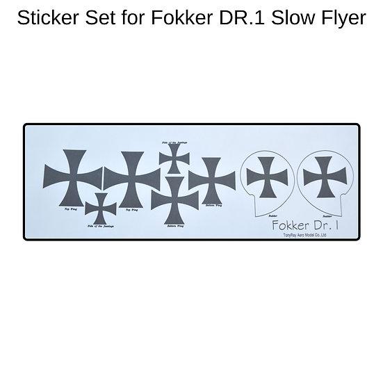 fokker dr1 decals, fokker dr1 dekoration, fokker dr1 modellflugzeug selber bauen, fokker dr 1 airplane kit, fokker dr 1 model