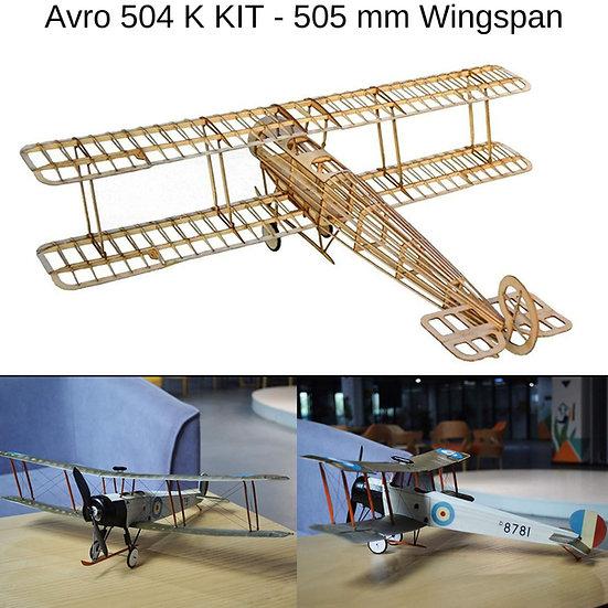 avro504k slow flyer, avro504k modellflugzeug, avro504k flugzeugmodell, avro504k selber bauen, avro504k park flyer, avro504k b