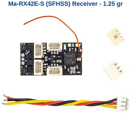 futaba micro receiver, 2,4g receiver, fhss receiver, empfänger futaba, futaba mini receiver, futaba micro empfänger, slow fly