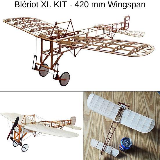 bleriot xi slow flyer, bleriot xi modellflugzeug, bleriot xi flugzeugmodell, bleriot xi selber bauen, bleriot xi park flyer,