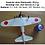 mitsubishi a6m2 zero slow flyer, a6m2 zero modellflugzeug, a6m2 zero flugzeugmodell, a6m2 zero selber bauen, a6m2 zero park f