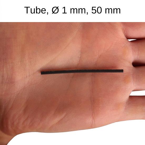Schrumpfschlauch,  Ø 1 mm, 50 mm Länge, Slow Flyer Zubehör, Bauzubehör