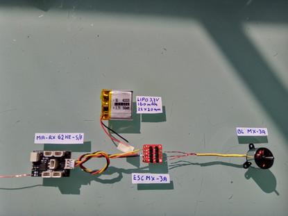 Verwendung AP05 mit Receiver und ESC