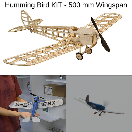 humming bird slow flyer, humming bird modellflugzeug, humming bird flugzeugmodell, humming bird selber bauen, humming bird pa