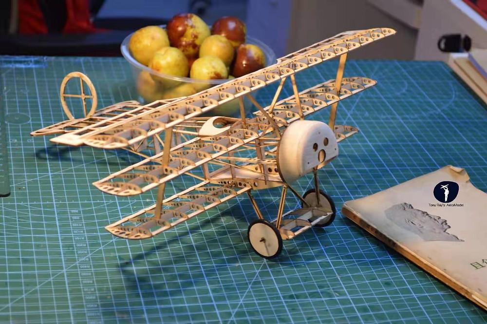 Micro, mini flugzeug bausatz balsa,lasercut flugzeugmodelle,rc doppeldecker bausatz,laser cut balsa holz kit,