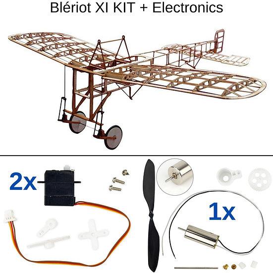 Slow flyer baukasten, bleriot xi kit, balsa holz bausatz, mini modellflieger baukasten, micro modellflugzeug bausatz, modellf