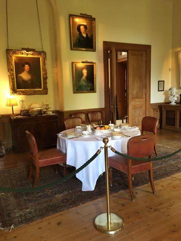 Breakfastroom Dunrobi Castle