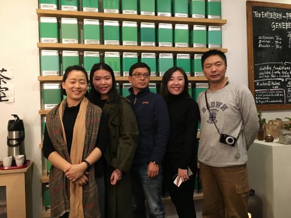 Besuch aus China - 2018