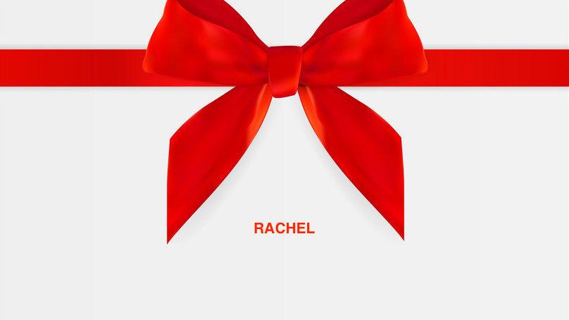 GIFT CARD - Rachel