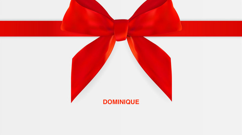 GIFT CARD - Dominique