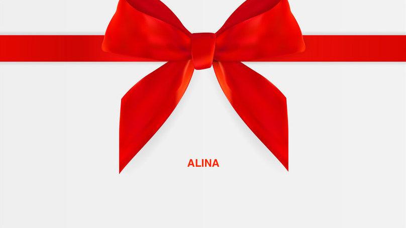 GIFT CARD - Alina