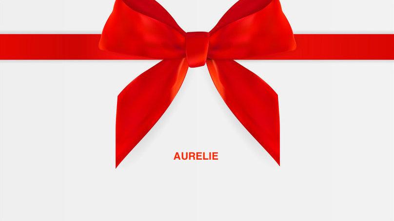 GIFT CARD - Aurelie
