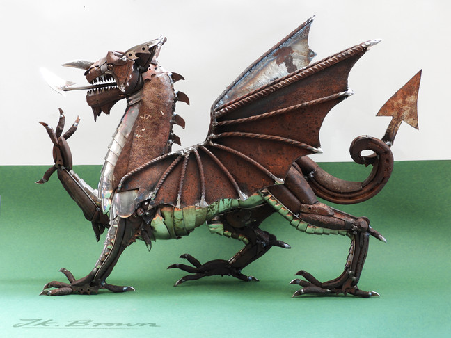 A Welsh Dragon