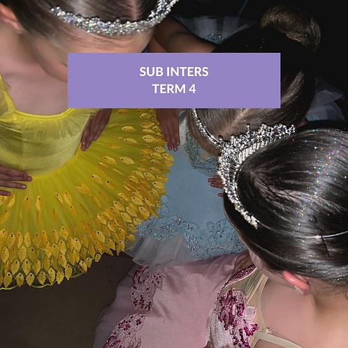 Sub Inters Term 4