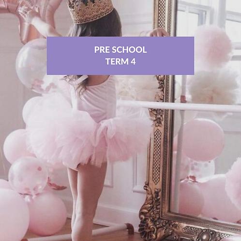 Pre School Term 4