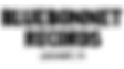 Bluebonnet text logo