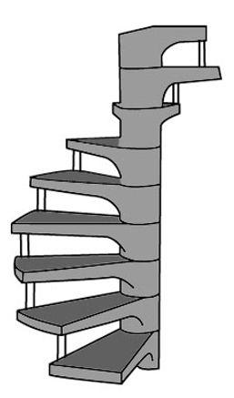 Escada Pré Moldada em Concreto, Caracol J, e Guarulhos Orçamento Sem Compromisso