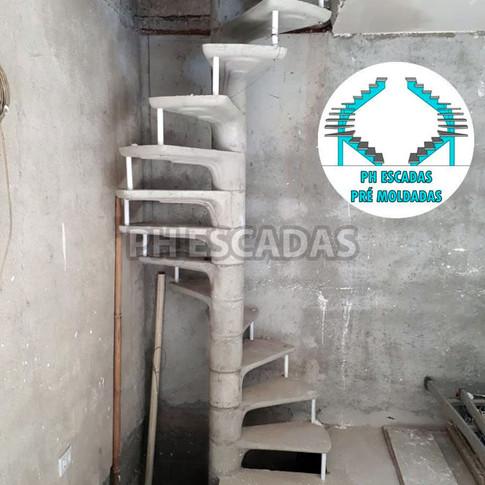 Escada Caracol Dupla