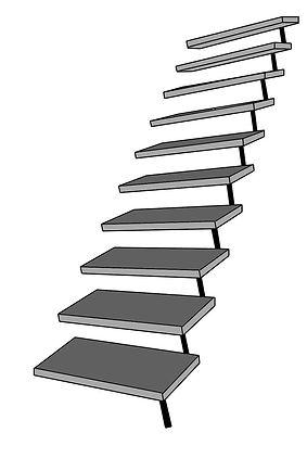Escada Pré Moldada em Concreto, Reta, L, U J, Caracol
