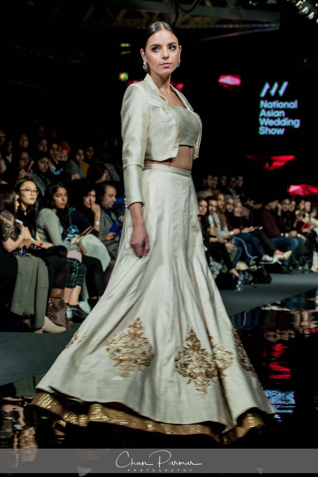 Dhabka Embroidered Skirt with Jacket