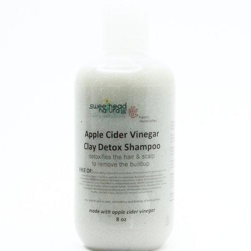 Apple Cider Vinegar Clay Shampoo