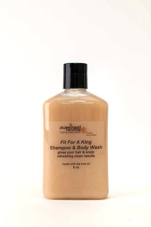 FIt For A King Shampoo & Body Cleanser