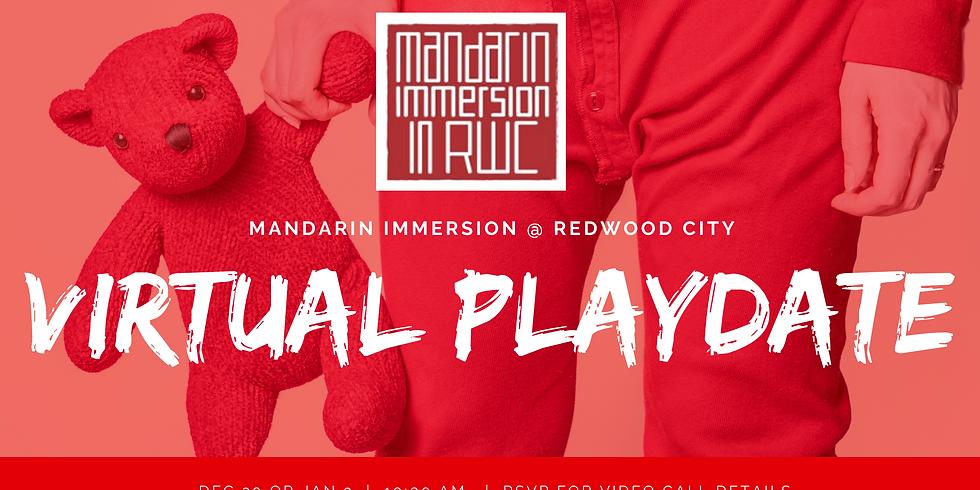 Mandarin Immersion Virtual Playdate