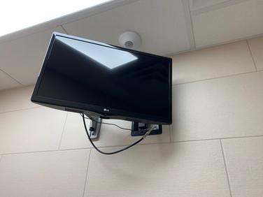 Smaller Suite TV (Larger Suites Have Larger TVs)
