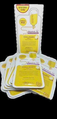 KIT 10 Mascarillas COLLAGEN IMPACT Mejora la elasticidad de tu piel, hidrata y n