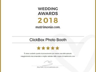 WEDDING AWARDS 2018 by Matrimonio.com