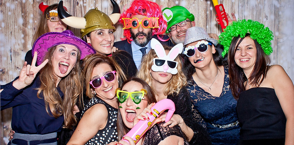 Photo Booth Evento Aziendale Cena di Natale