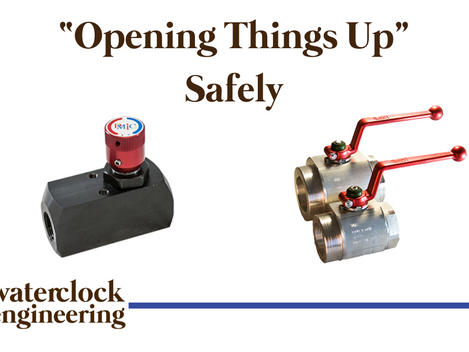 """""""Opening Things Up"""" Safely"""