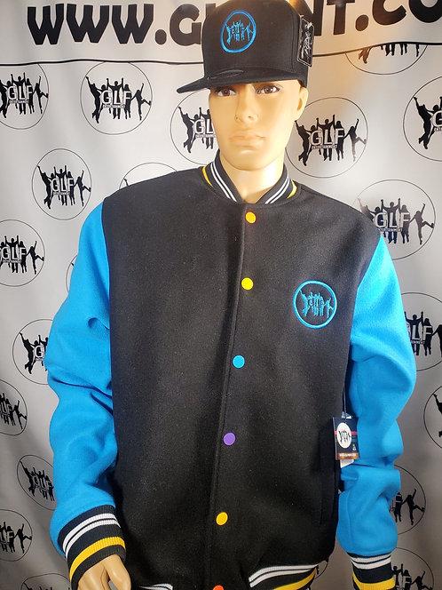GLF Embroidered Sport Jacket (Blue & Black) w/Hat