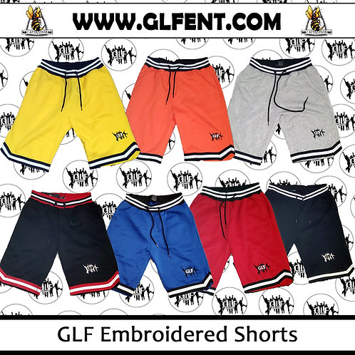 GLF Embroidered Shorts